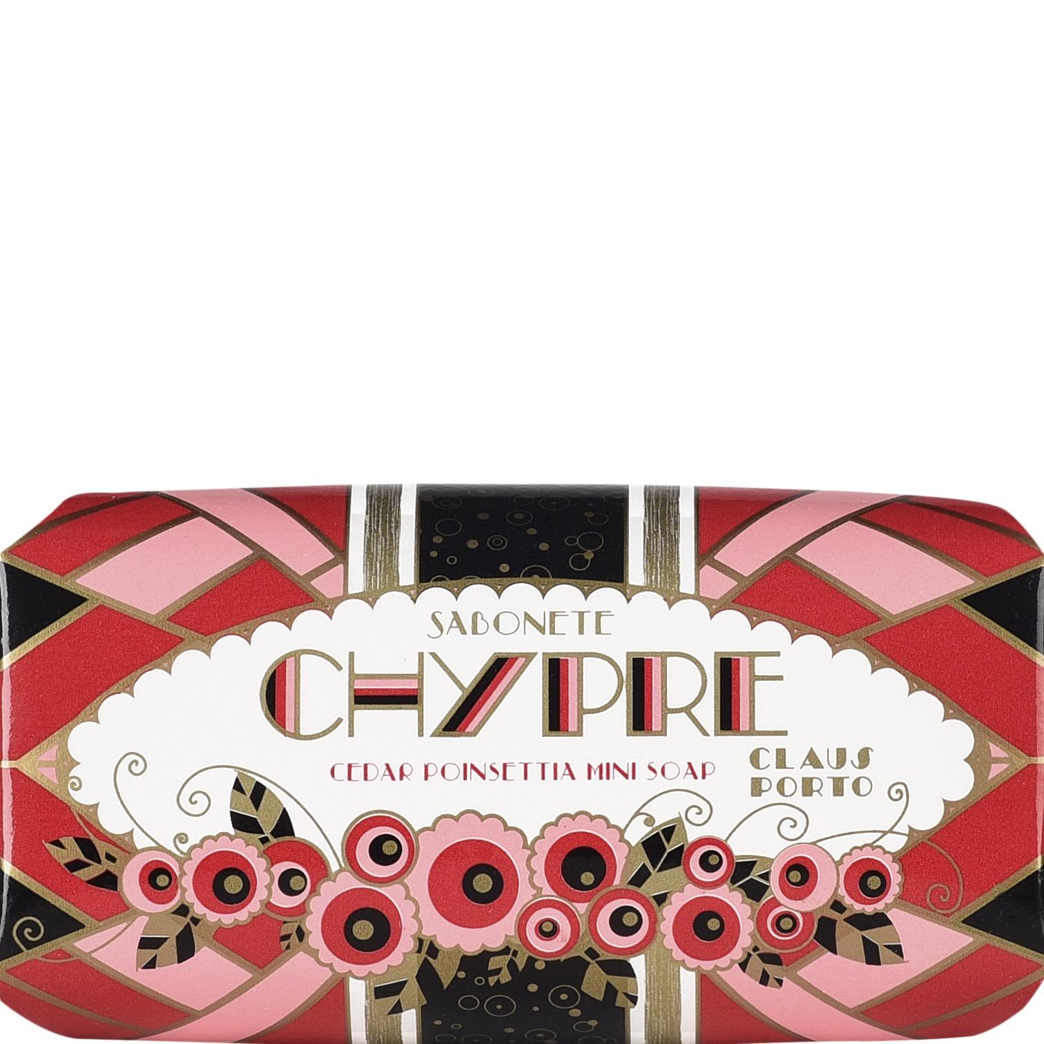 Soap Bar Chypre / Cedar Poinsettia