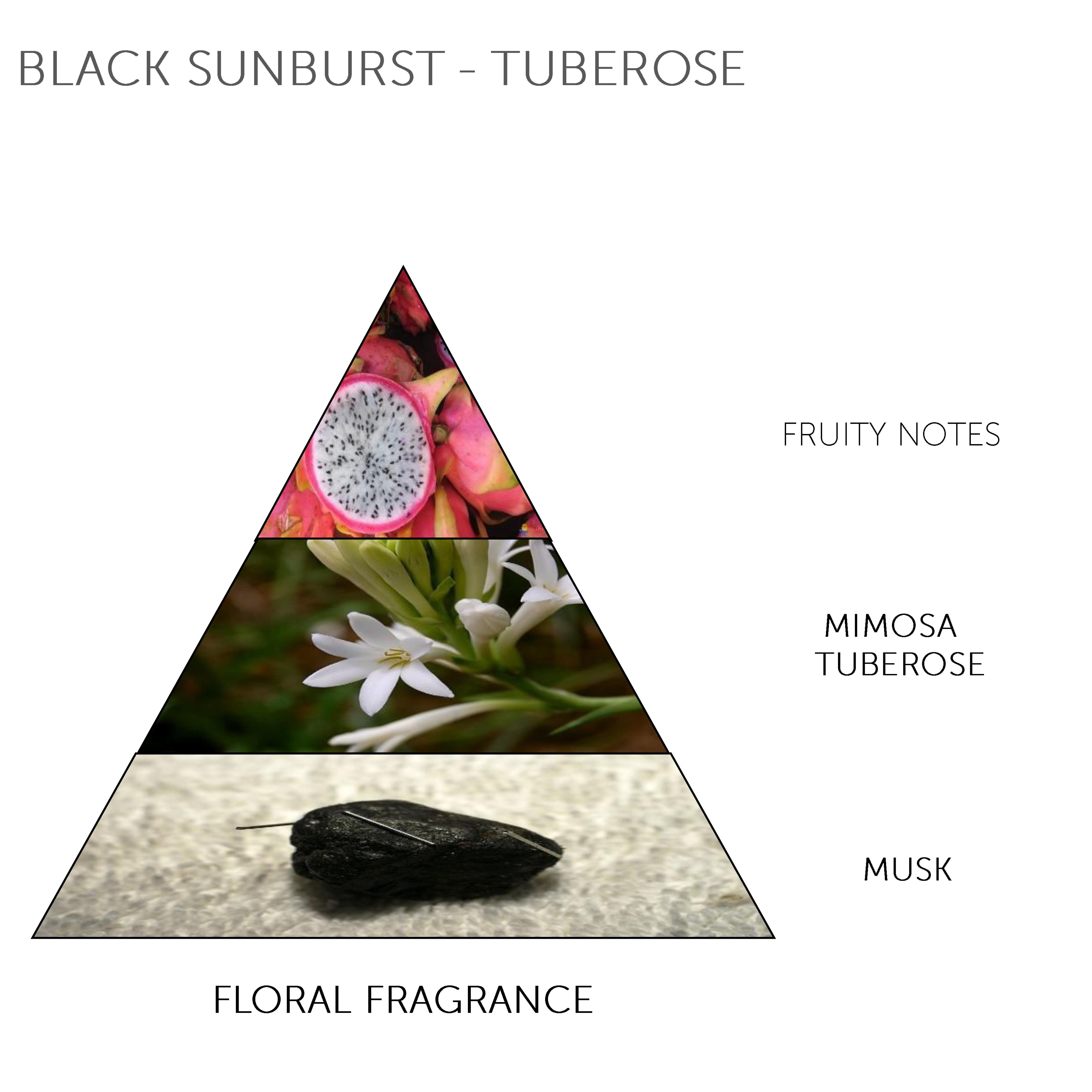 Tester - Mini Soap Bar Black Sunburst - Tuberose