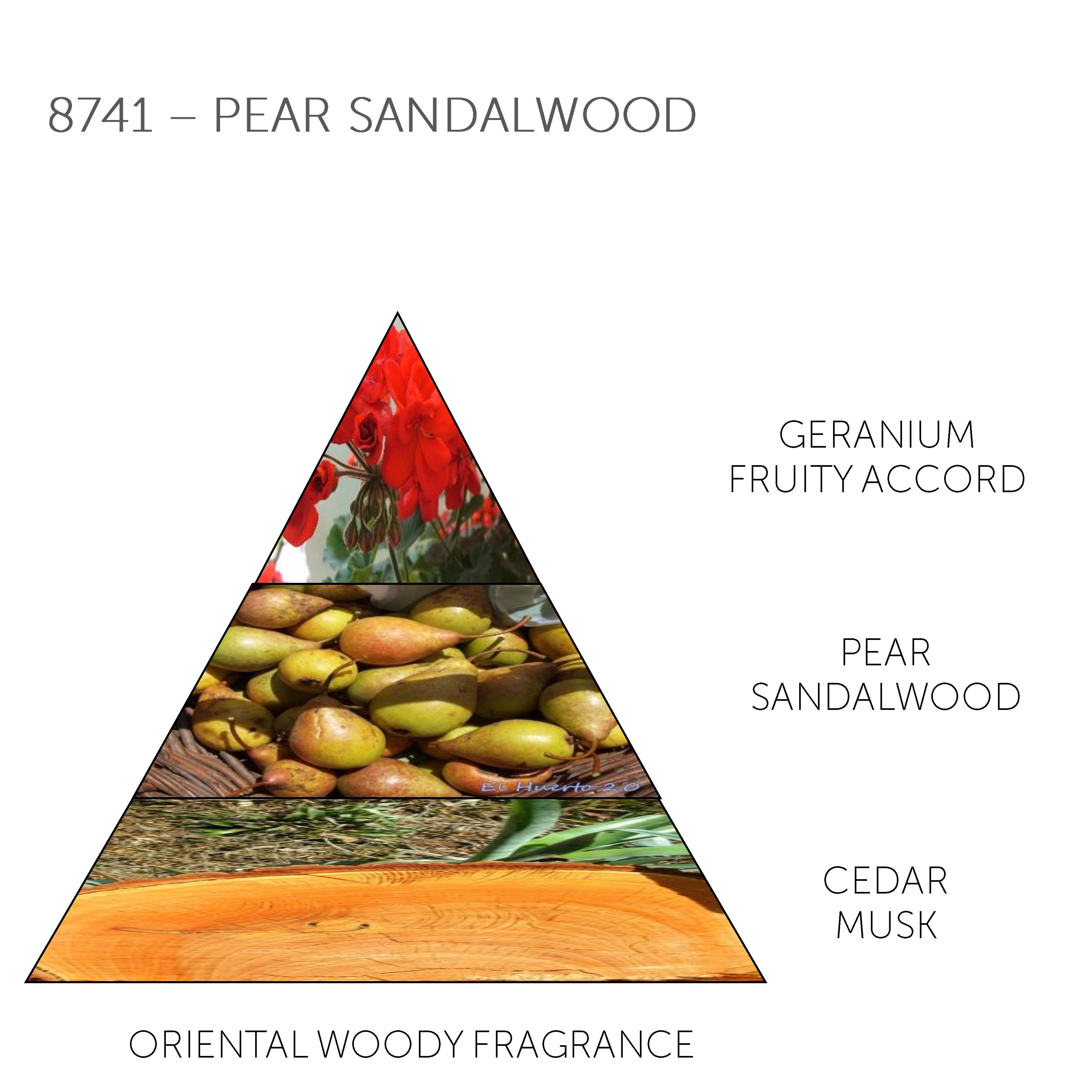 Mini Soap Bar 8741 - Pear Sandalwood