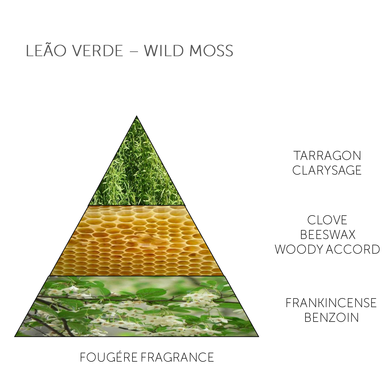 Soap Bar Leão Verde - Wild Moss