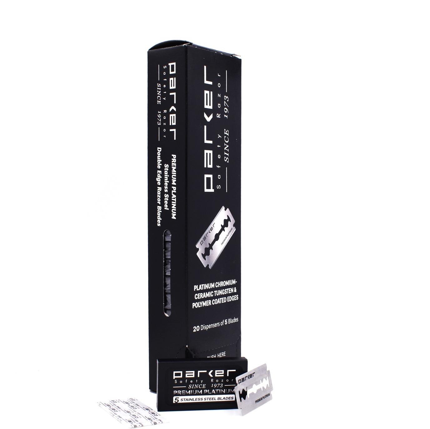 Box - Double Edge Blades Premium Platinum