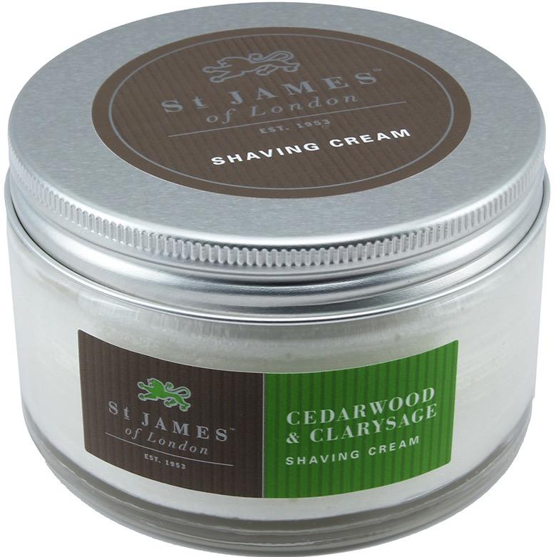 Scheercrème Cedarwood & Clarysage