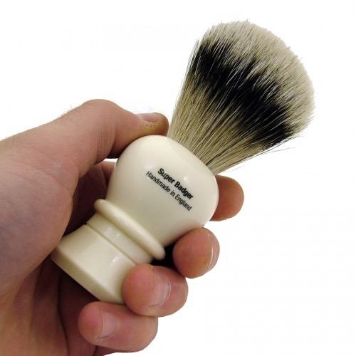 Scheerkwast Vulfix 2235 - Super Badger Dashaar - ivoor