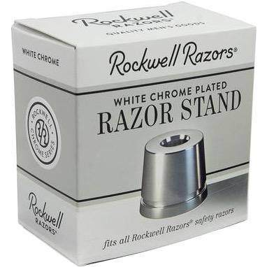 Houder voor Safety Razor White Chrome