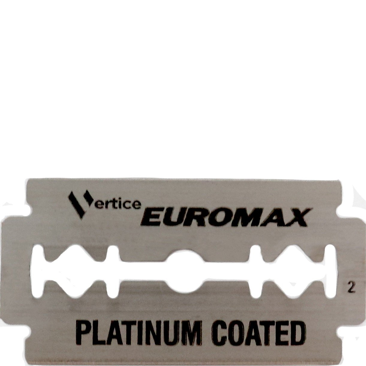 Double edge blades Cryo Sputtered Platinum