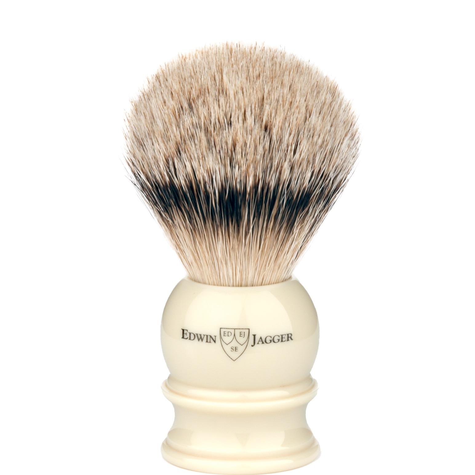 Scheerkwast Silvertip  - ivoor