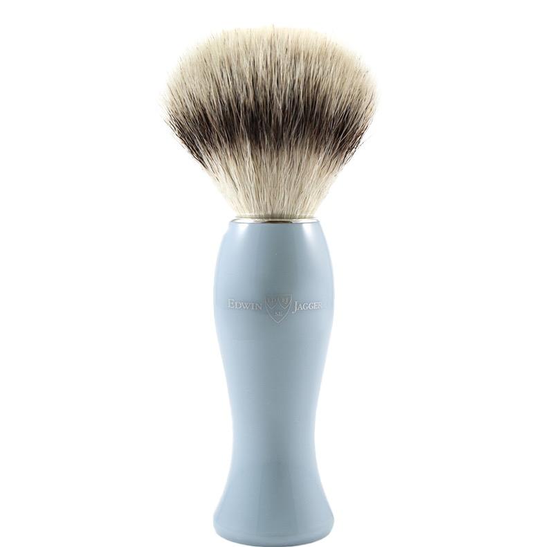 Scheerkwast Ladies - Silvertip Fibre - blue