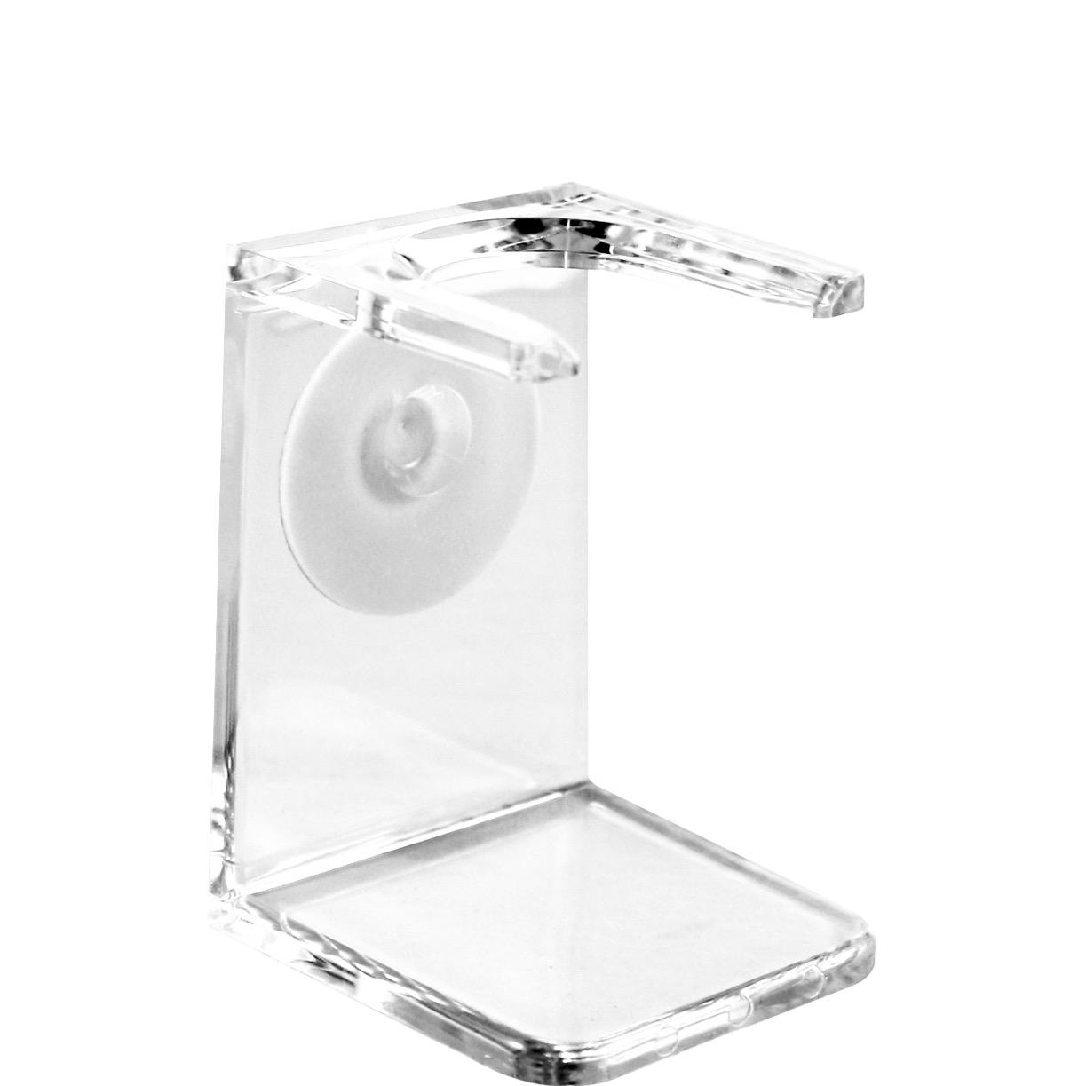 Houder voor scheerkwast transparant