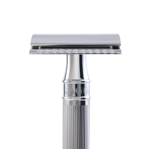 Safety Razor Long Lined - chroom