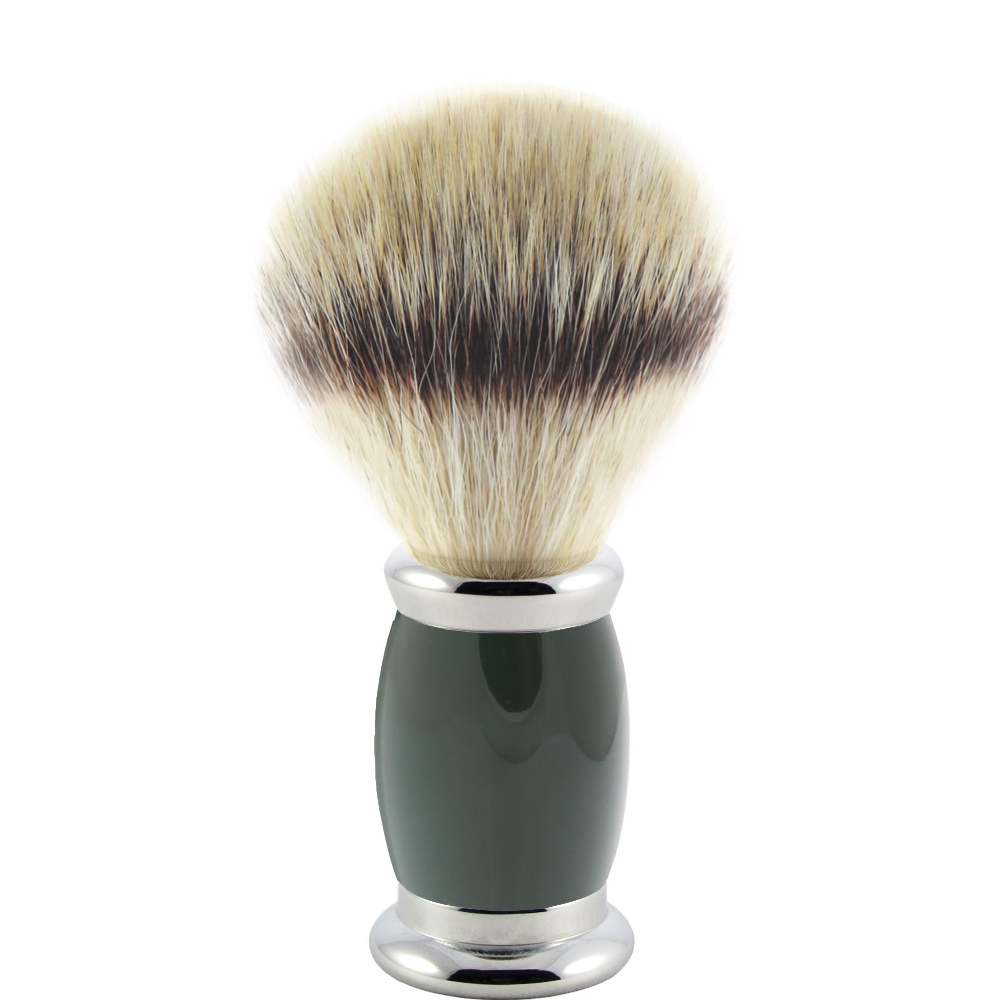 Scheerkwast Bulbous - Silvertip Fibre - green