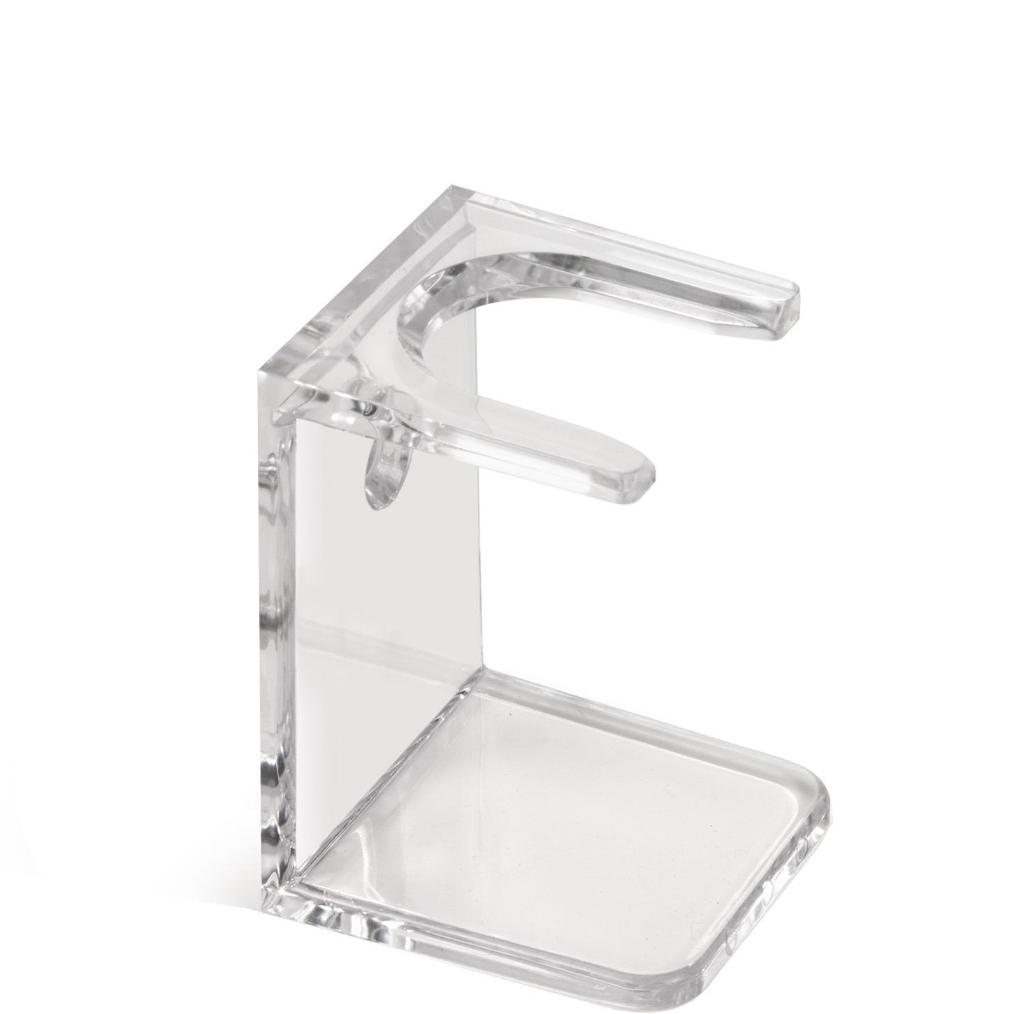 Basic Houder voor scheerkwast - transparant