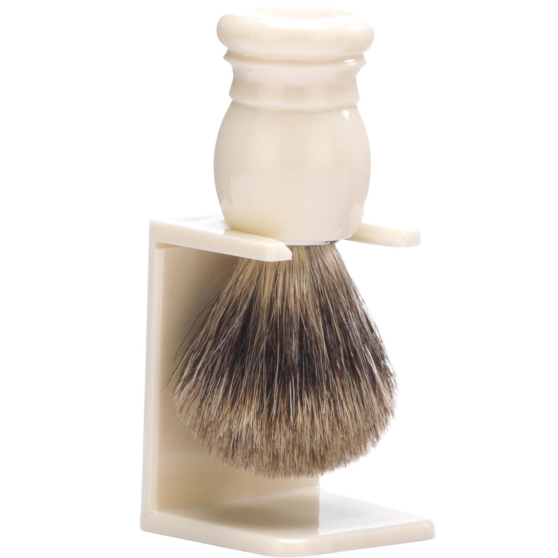 Basic Houder voor scheerkwast - grijs