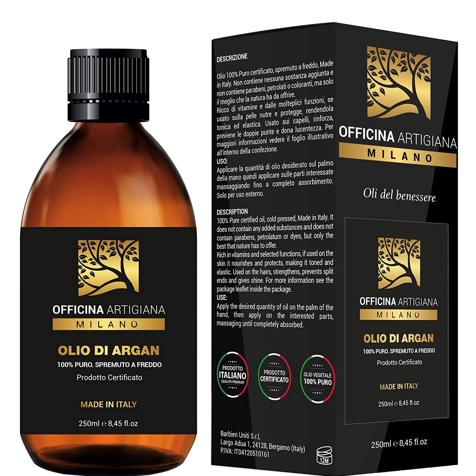 100% Pure Certified Argan Oil