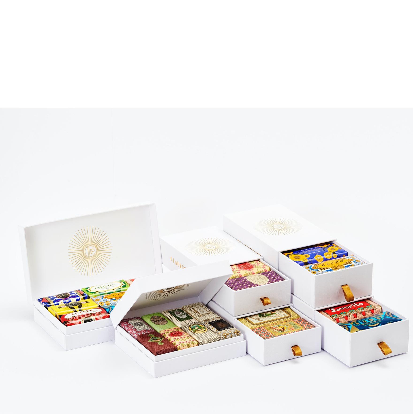 Tester - Gift Set Soap Dish & Mini Hand- & Body Soap - Deco