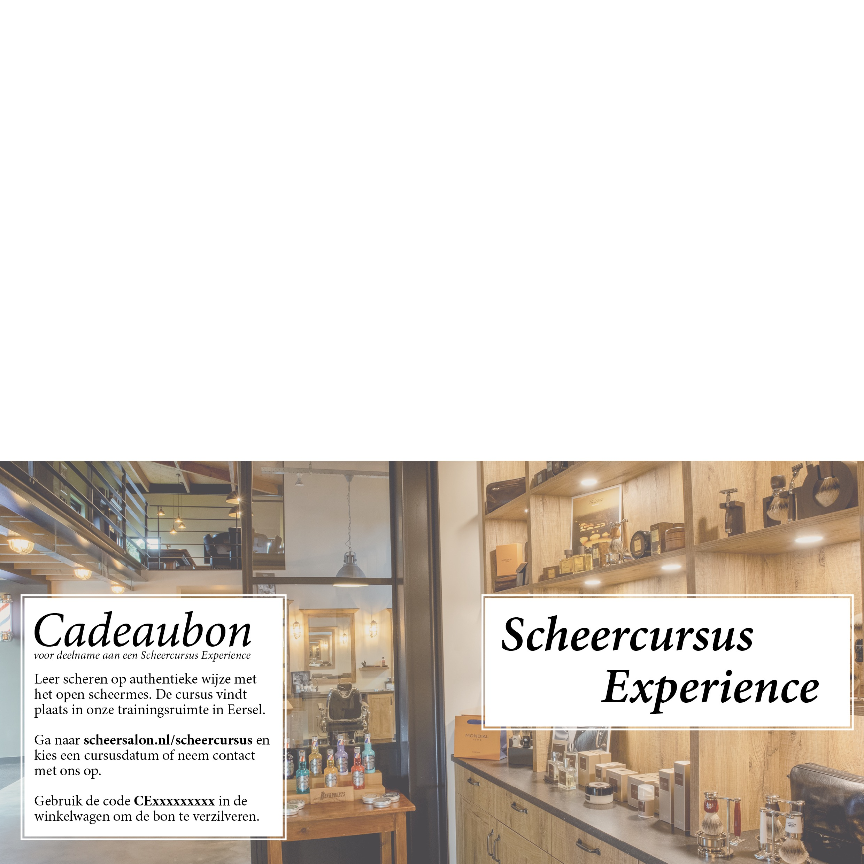 Cadeaubon workshop Experience