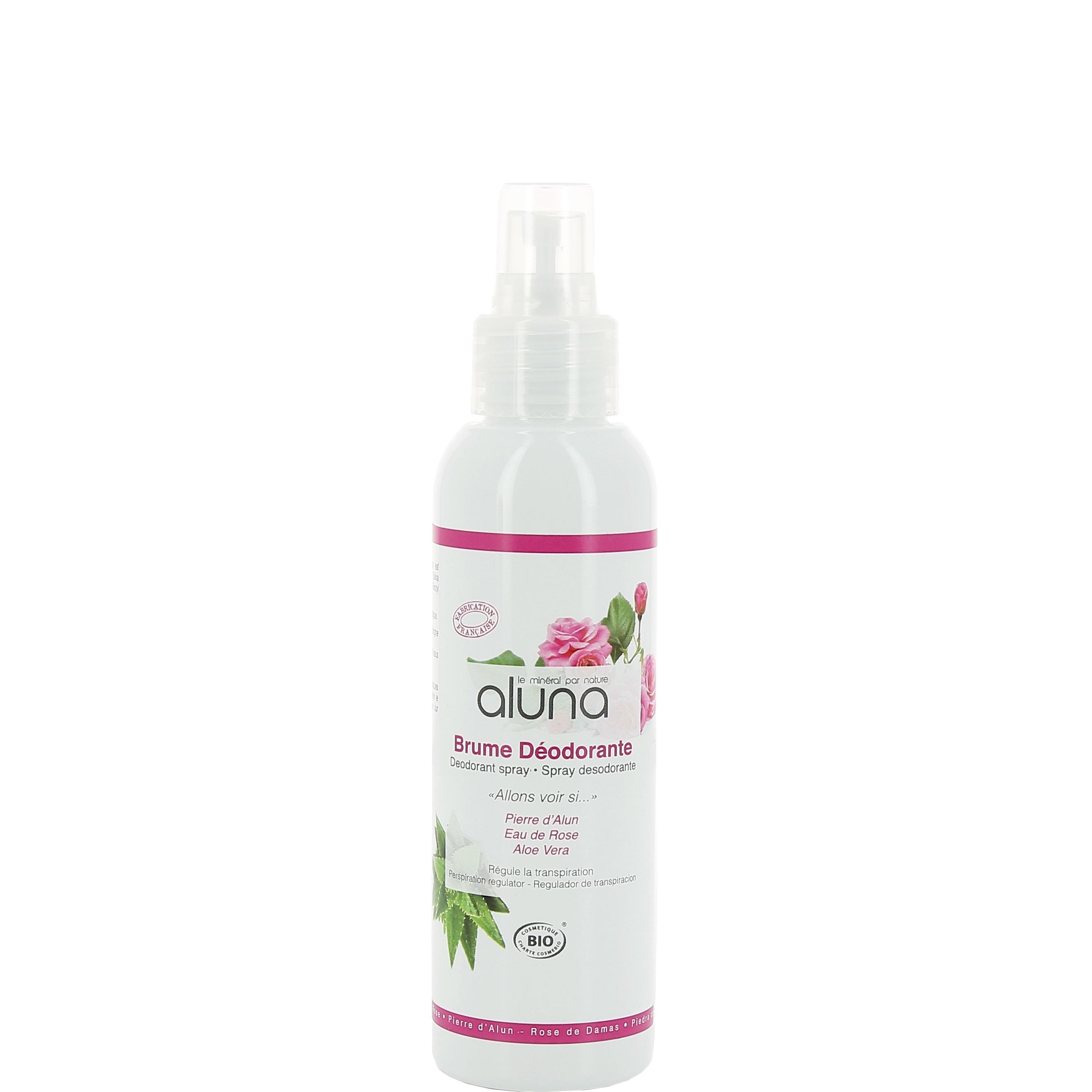 Aluin Deodorant Spray Aluna - Organic Rose