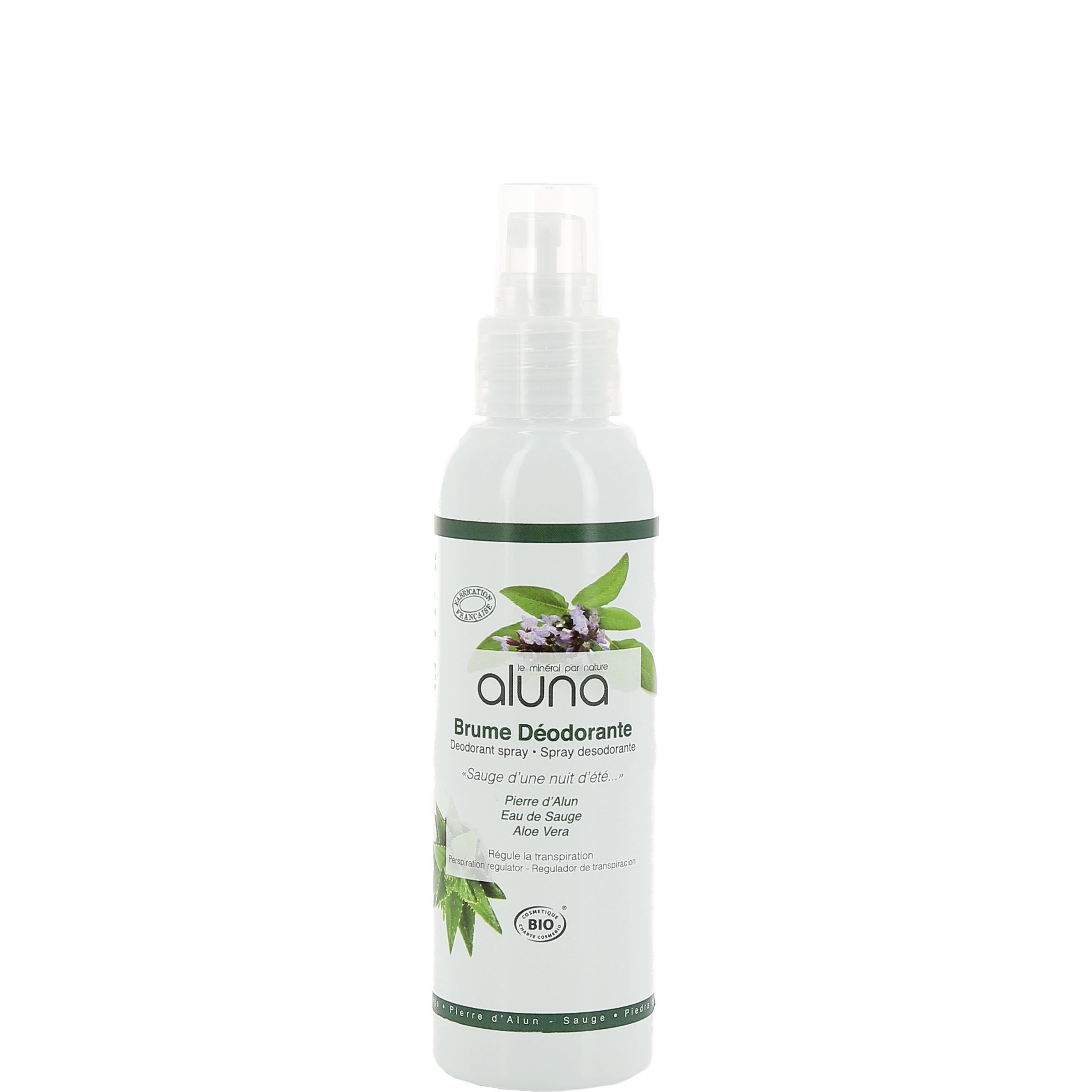 Aluin Deodorant Spray Aluna - Organic Sage