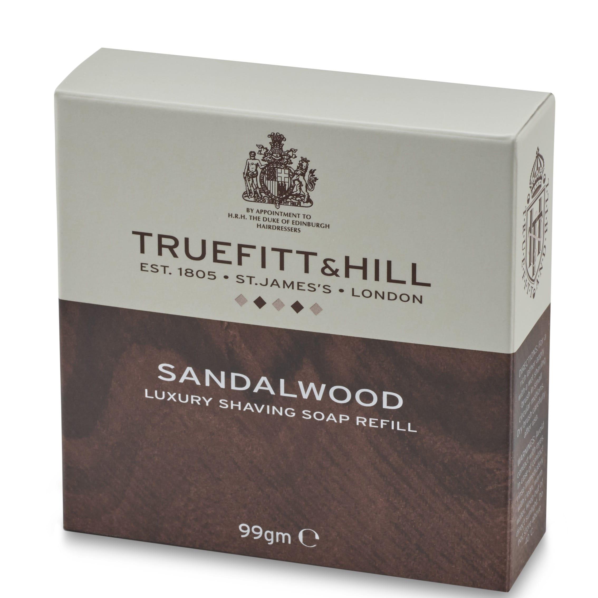Scheerzeep Navulling Sandalwood