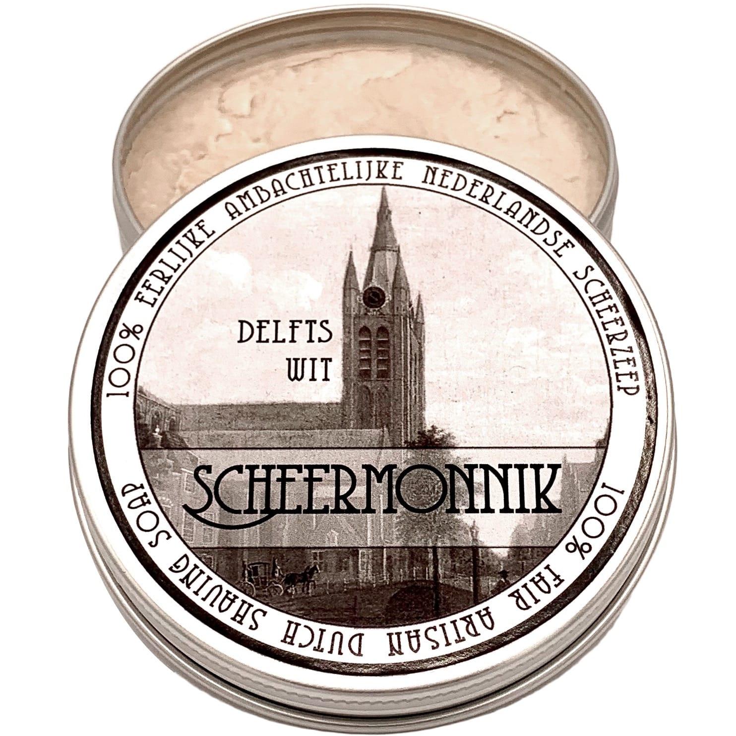 Scheerzeep Traditional Delfts Wit