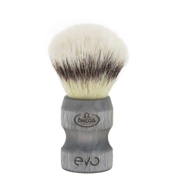 Scheerkwast EVO Duca Silvertip fibre - Stone
