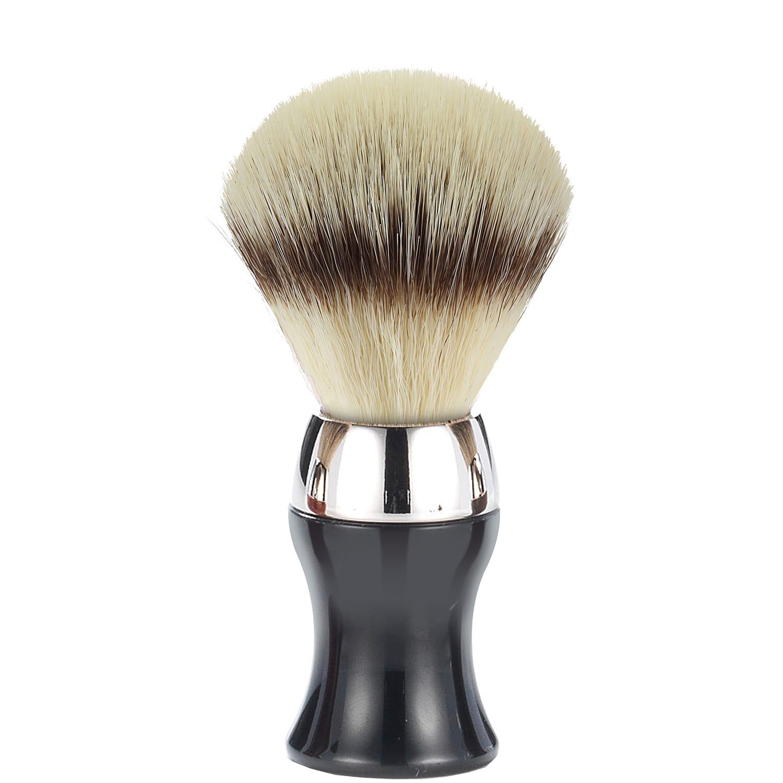 Scheerkwast Heritage Eco Silvertip - zwart