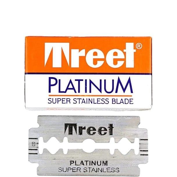 Treet Double Edge Blades  Platinum Super Stainless