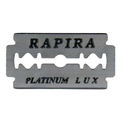 Rapira  Double Edge Blades Lux Platinum