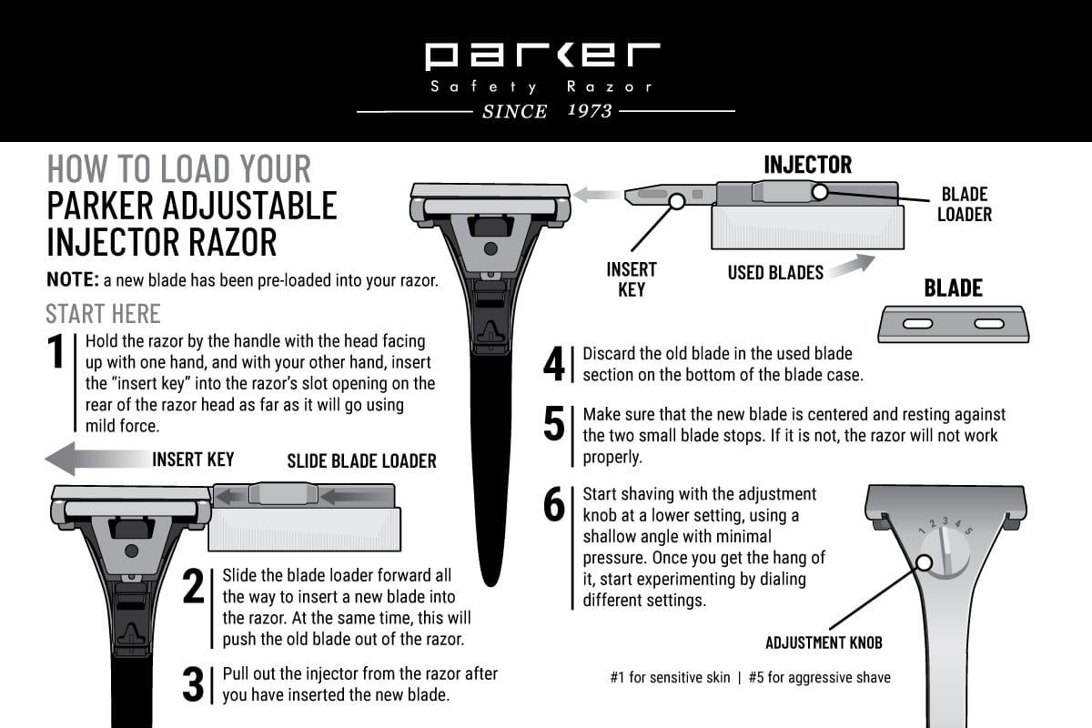 Adjustable Injector Razor
