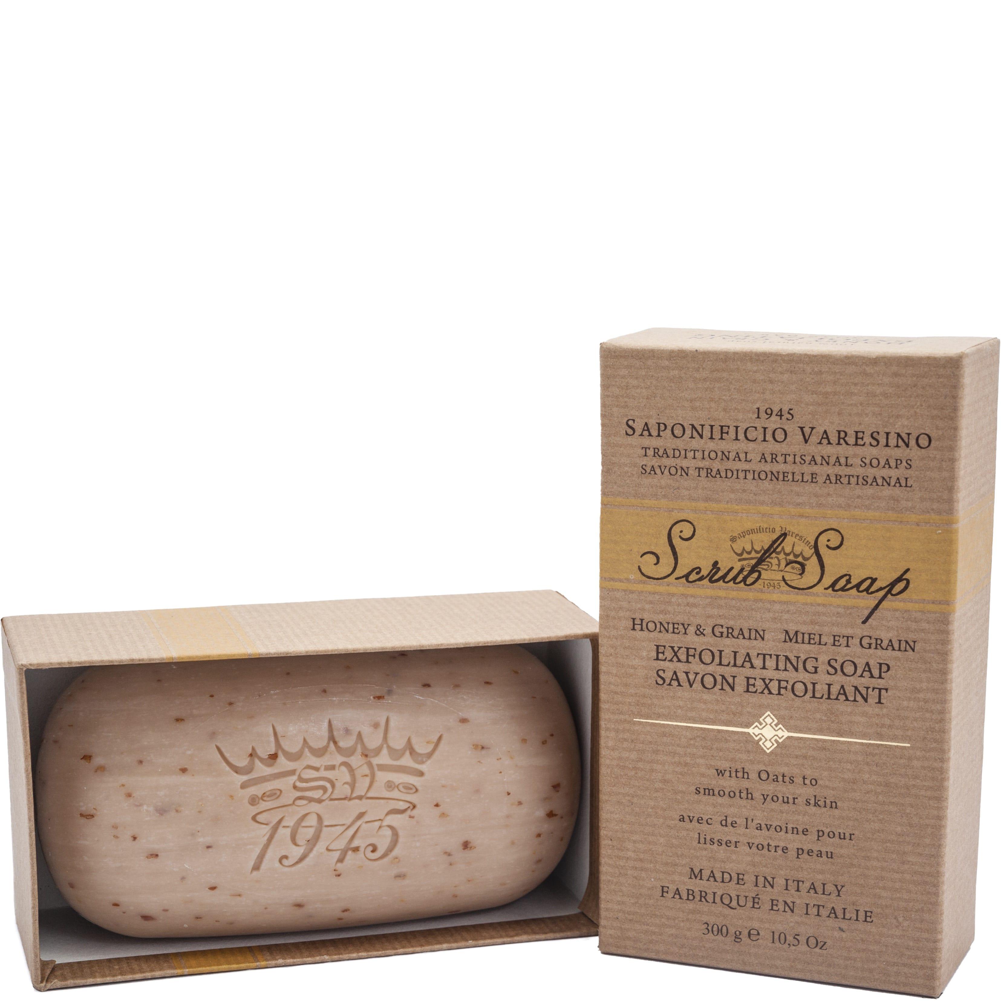 Hand- & Body Scrub Soap Honey & Grain